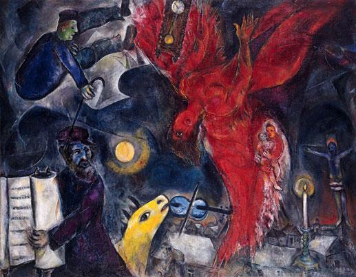 Chagall et la Bible, Le prophète rieur de Vitebsk
