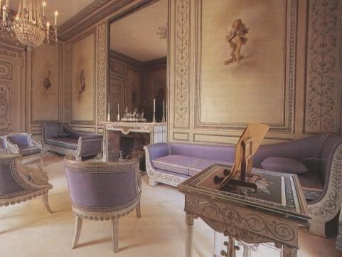 Le salon d'argent de l'Élysée où Napoléon signa sa deuxième abdication en 1815