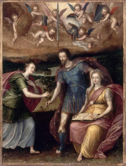 Henri IV à Saint-Germain, Prince de paix, patron des arts (Saint-Germain-en-Laye)