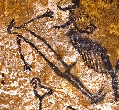 L'homme à tête d'oiseau (Lascaux)