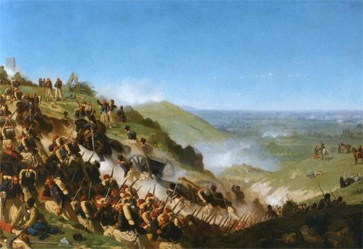Les zouaves à la bataille de Solferino (Alexandre Protais)