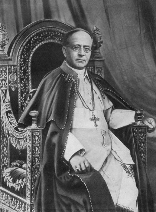 Pie XI (Achille Ratti) en 1930
