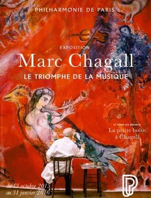 Marc Chagall, Le triomphe de la Musique (PARIS)