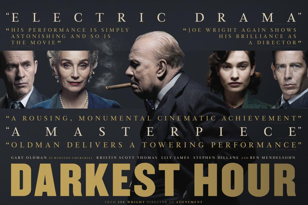 Darknest Hours (Les Heures sombres, Joe Wright, 2017à