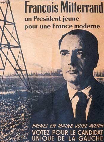 Affiche de la campagne présidentielle de 1965