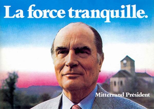 Affiche de la campagne présidentielle de 1981
