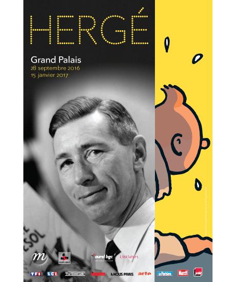 Hergé, <em>Tintin</em> pour les bac+10 (Paris)
