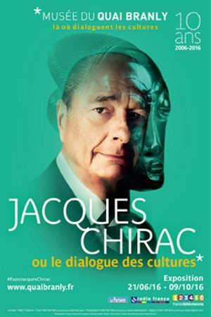 Jacques Chirac..., ... ou le dialogue des cultures (Paris)