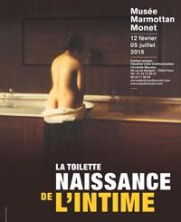 La toilette, Naissance de l'intime (Paris)