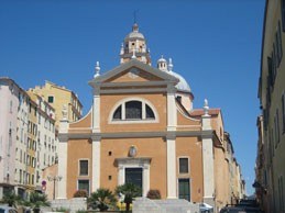 La cathédrale ND à Ajaccio (DR)