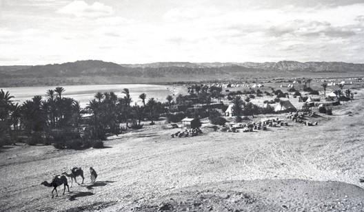 Le port d'Akaba en 1918