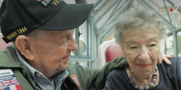13 juin 2019 : Un vétéran américain retrouve son amour de jeunesse 75 ans après