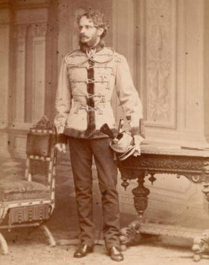 Gyula Andrassy (8 mars 1823, Vlachovo - 18 février 1890, Volosko)