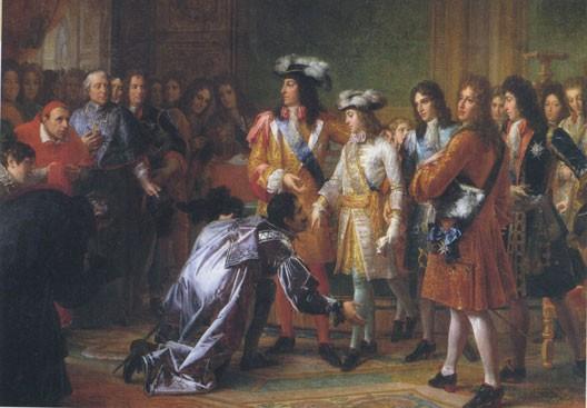 Proclamation du duc d'Anjou roi d'Espagne, 16 novembre 1700 (François Gérard, château de Chambord)