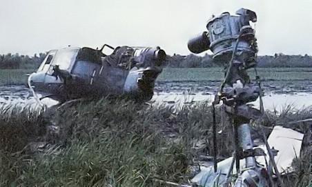 Hélicoptère américain abattu à Ap Bac, dans le delta du Mékong (2 janvier 1963)