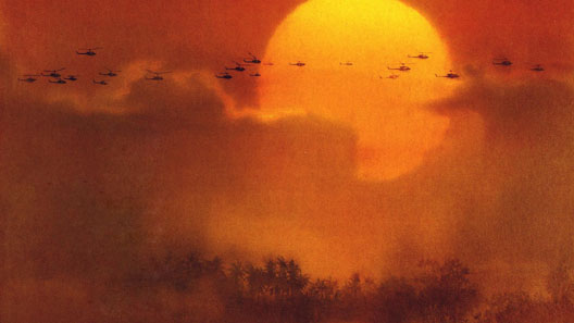 Une image du film Apocalypse Now (Francis Ford Coppola, 1979)