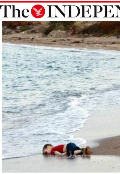 Aylan sur une plage turque (The Independent)