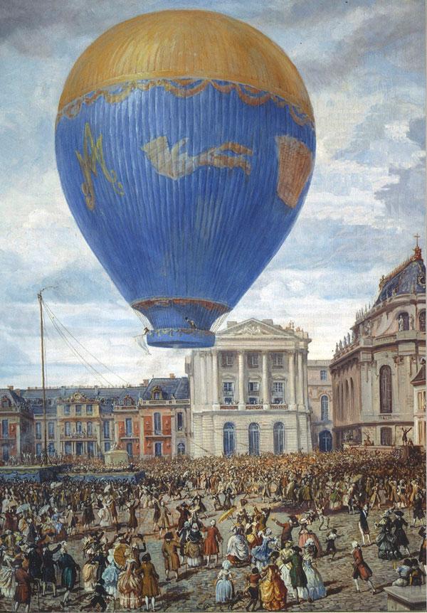 21 novembre 1783 - Premier vol habité en montgolfière - Herodote.net
