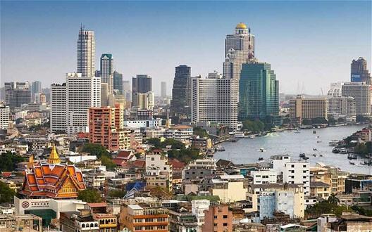 Bangkok au début du XXIe siècle (DR)
