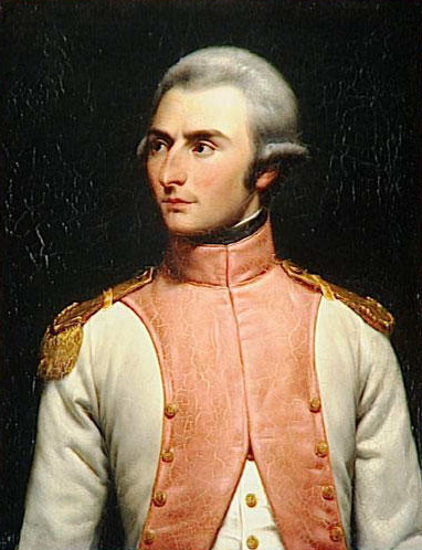 Bernadotte lieutenant du-36e régiment de ligne en 1792 (Louis-Felix Amiel, 1834)