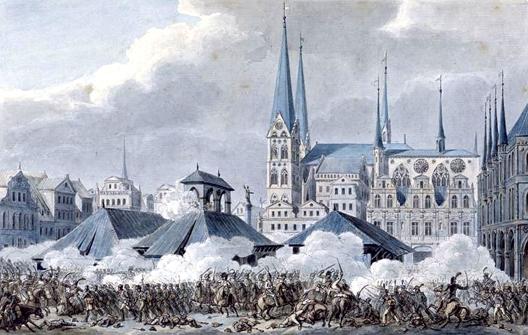 La bataille de Lübeck (6 et 7 novembre1806)