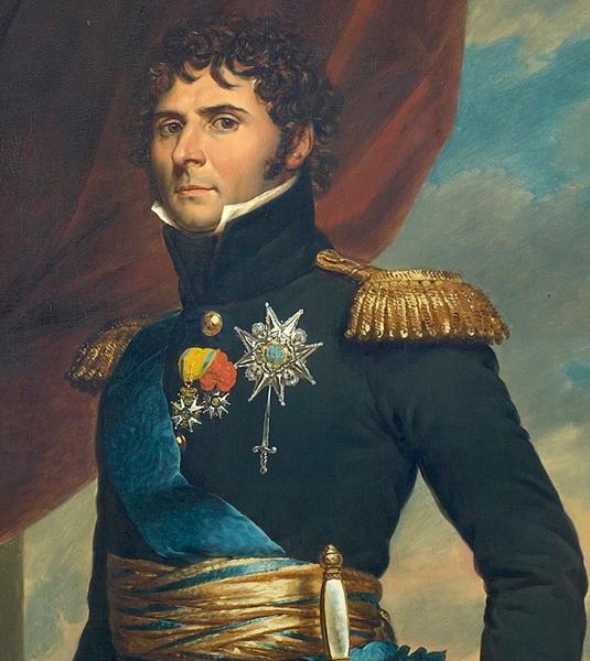 Le maréchal Jean-Baptiste Bernadotte en prince héritier de Suède (1811, François Gérard, collections royales de Stockholm)