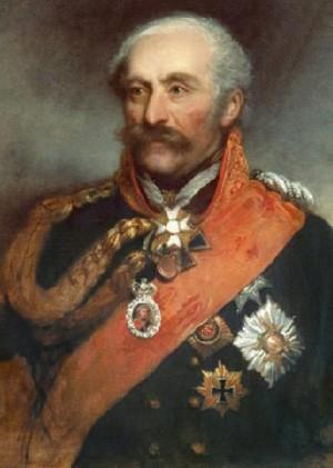 Gebhard Leberecht von Blücher1 (16 décembre 1742, Rostock - 12 septembre 1819, Krieblowitz - Mecklembourg), portrait par George Dawe