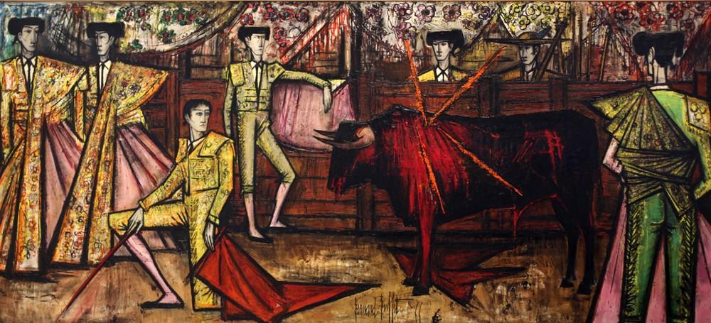« La Corrida », 1967, Bernard Buffet, DR.