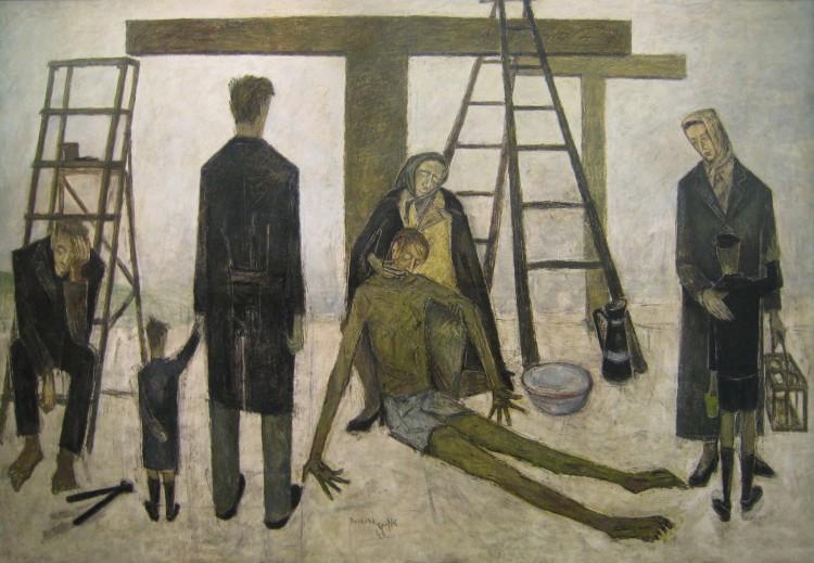 « La Déposition de croix », Bernard Buffet, 1946, DR.