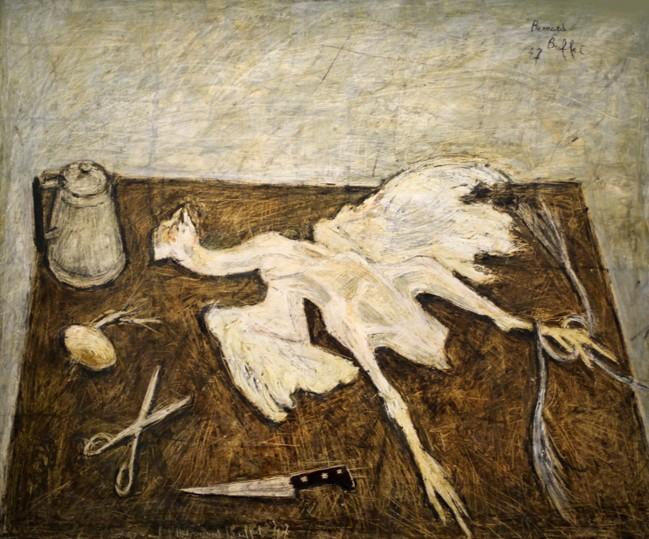 « Le Coq Mort », Bernard Buffet, musée Cantini, Marseille, DR.