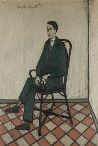 Pierre Bergé, Bernard Buffet, 1950, collection Pierre Bergé, DR.