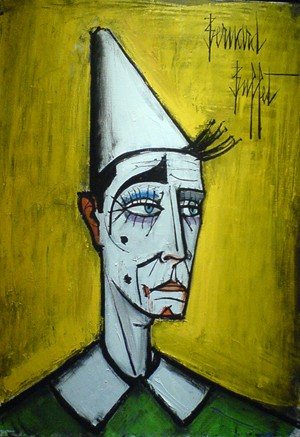 Bernard Buffet, Clown blanc