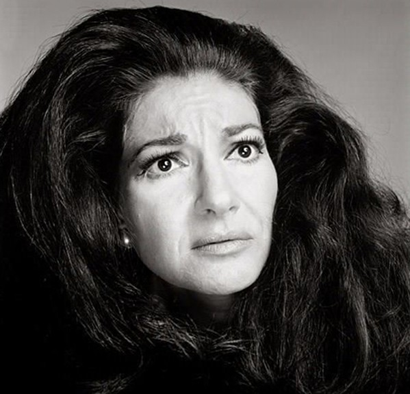 Maria Callas, portrait de Richard Avedon, 1970.