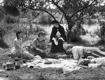 La partie de campagne, film de Jean Renoir (1936) d'après une nouvelle de Maupassant