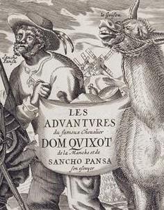 Jacques Lagniet, Don Quichotte, Sancho Panza et son âne, XVIIe siècle, Paris, Bnf.