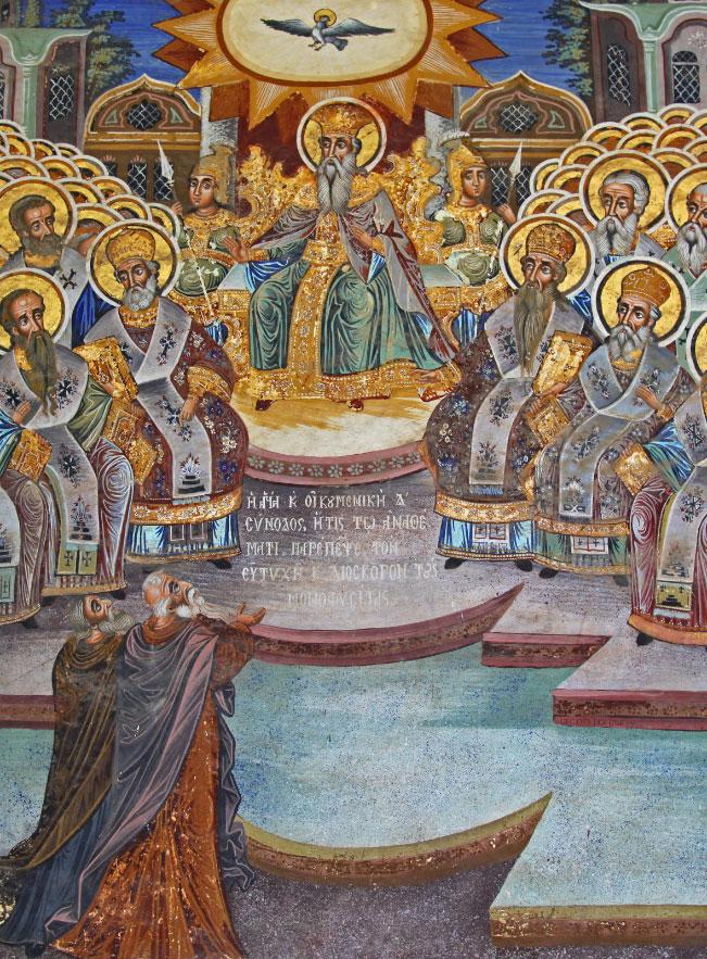 Concile de Chalcédoine (451), icone byzantine