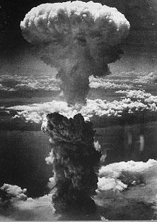 Le champignon atomique en 1945