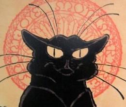 Tournée du Chat noir de Rodolphe Salis, 1896, Théophile-Alexandre Steinlein, université Rutgers,  Zimmerli  Art Museum, New Brunswick, New Jersey, États-Unis.