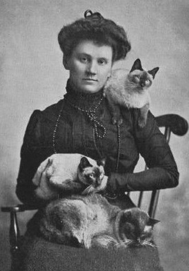 Madame Robert Locke a fondé le Beresford Cat Club en 1899. Elle posséda les premiers chats siamois enregistrés en Amérique appelés « Calif », « Siam » et « Bangkok ».
