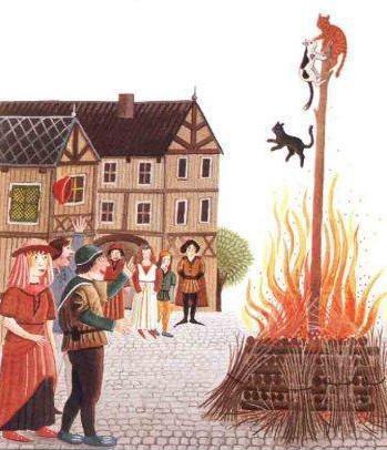« Chasse aux sorcières », gravure, XVIe siècle.