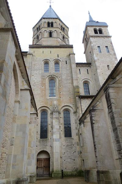 L'abbatiale de Cluny en 2015 (photo : Fabienne Vignolle pour Herodote.net)