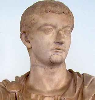 Buste de l'empereur romain Tibère, Musée archéologique régionale de Palerme.