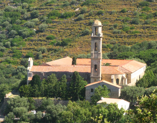 Le monastère Saint-Dominique de Corbara, dans la Balagne corse (photo: Fabienne Larané)