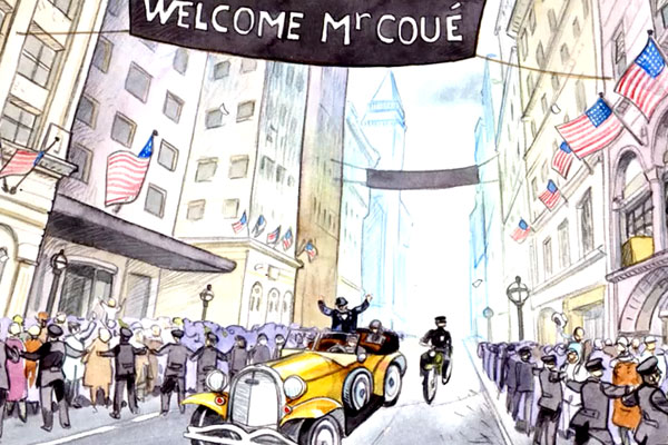 Welcome M. Coue (New-York, 1923)