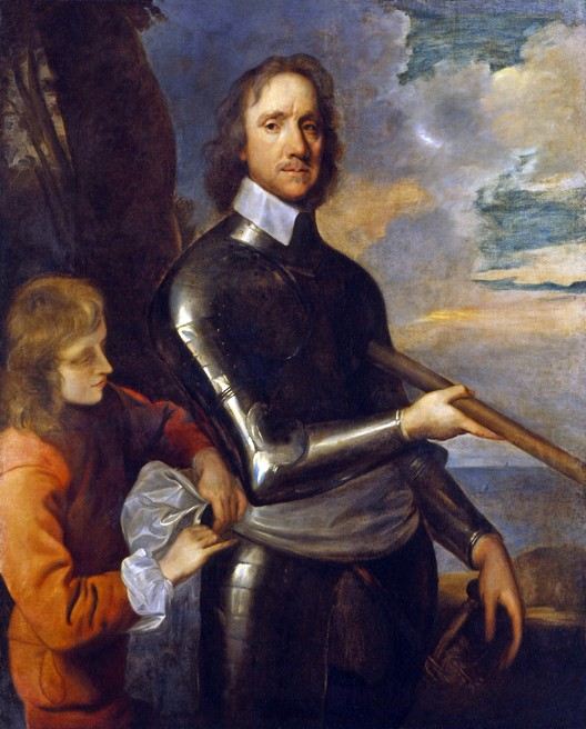 Oliver Cromwell (Huntingdon, 25 avril 1599 – Londres, 3 septembre 1658), par Robert Walker