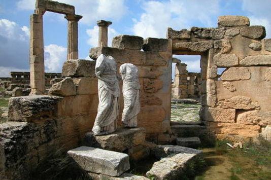 14 juillet 2016 : L'Unesco déclare en péril cinq sites libyens
