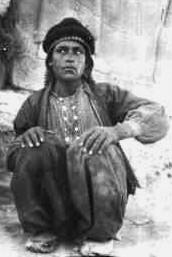 Dahoum photographié par T.E. Lawrence vers 1916