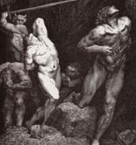 29 mars 2021 : Mahomet effacé de L'Enfer de Dante :