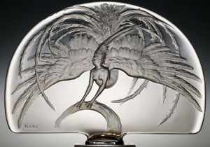 René Lalique, L'Oiseau de feu, 1922, the Corning Museum of Glass, Corning, New York