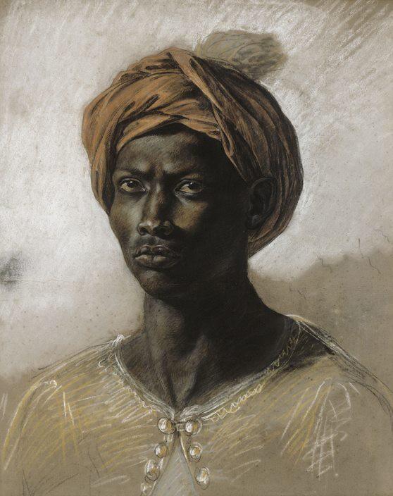 Eugène Delacroix, Nègre au turban, 1826, Paris, Musée national Eugène Delacroix
